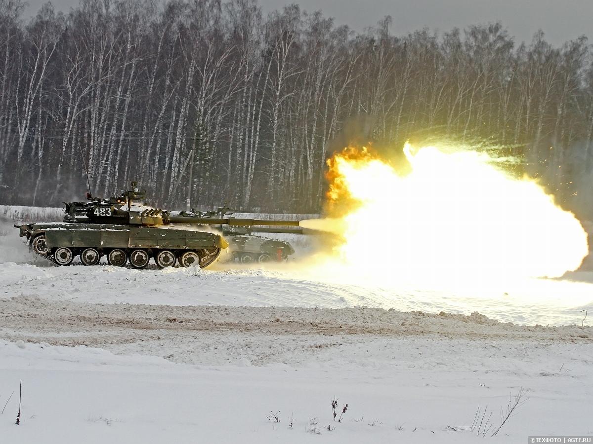 Боевые стрельбы  в 4й  Кантемировской танковой дивизии.