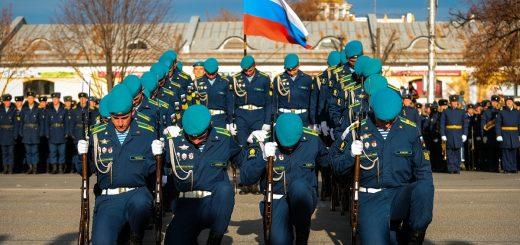 Празднование 100-летия Рязанского гвардейского высшего воздушно-десантного командного училища