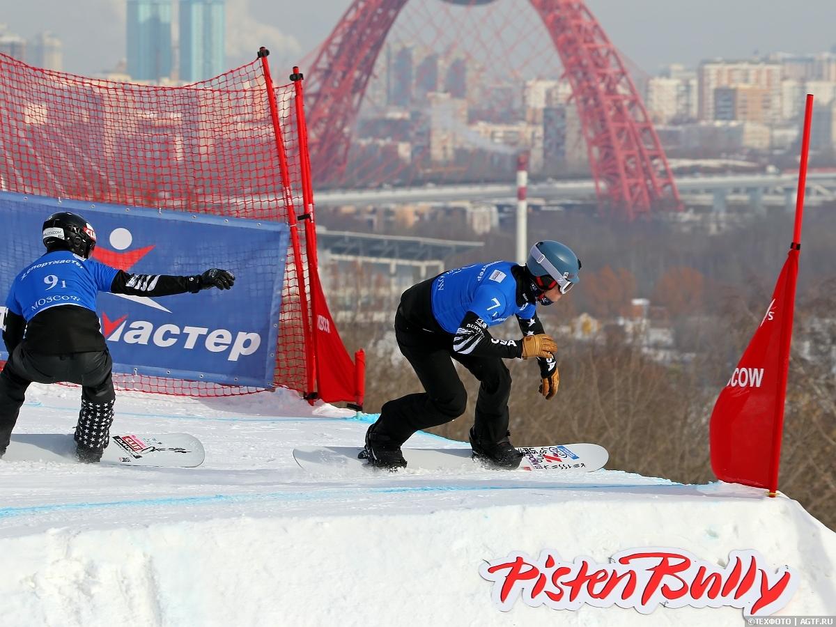 Этап Кубка Мира в дисциплине сноуборд-кросс