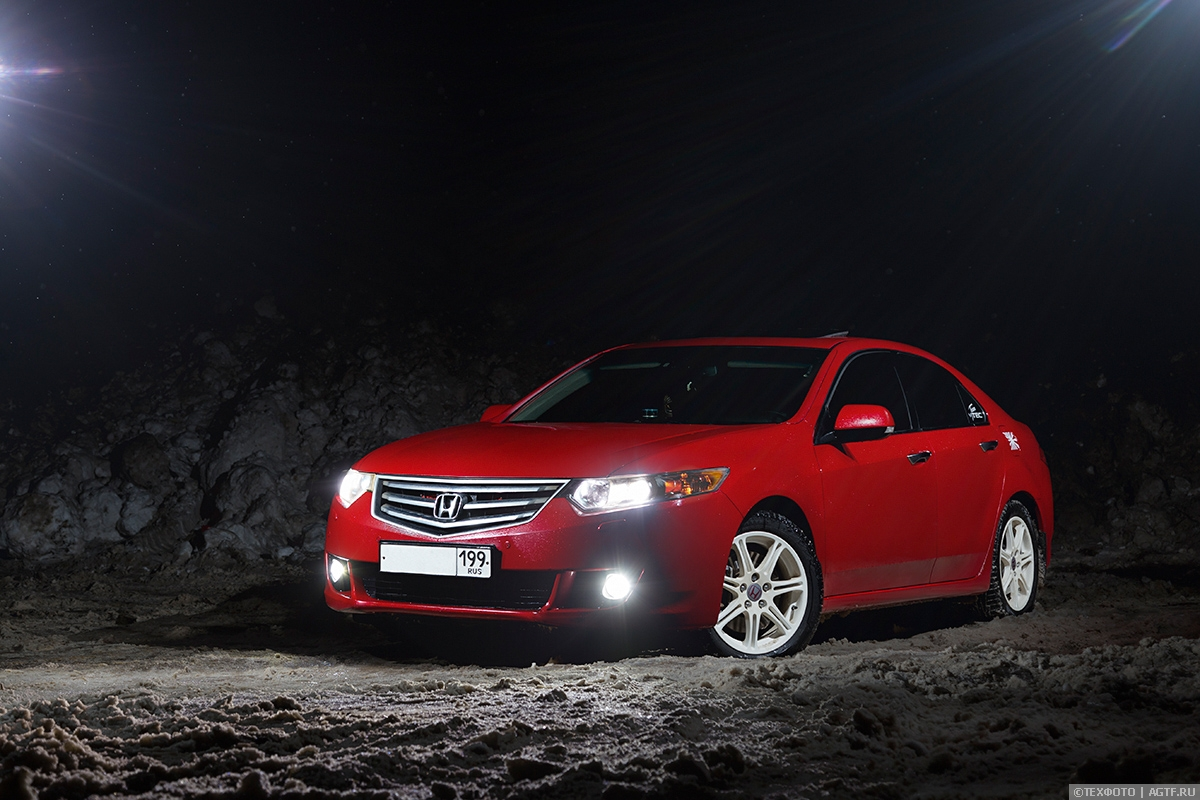 Honda Accord 8 Red