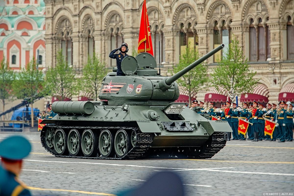 Парад Победы 9 мая 2019 года