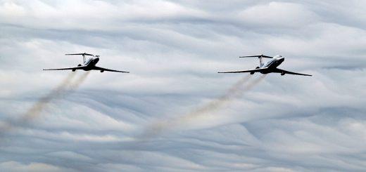 Близкое небо дальней авиации, часть 2: в небе