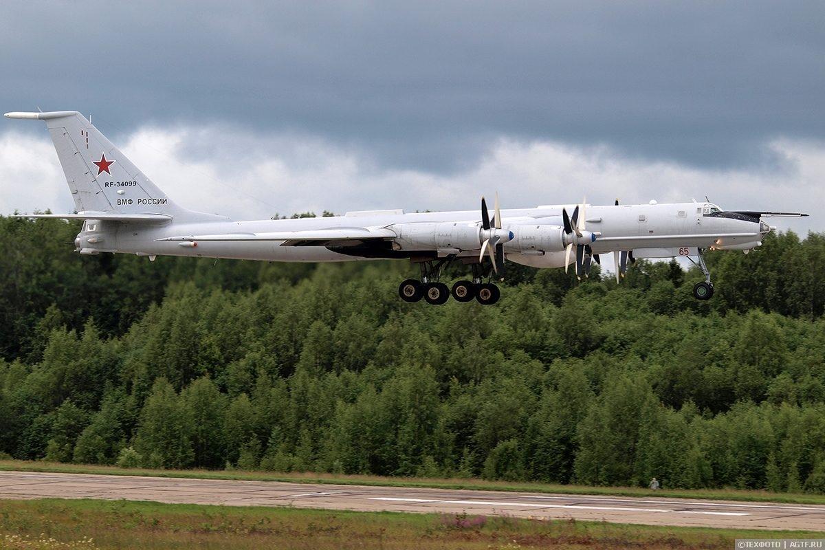 Морская Авиация ВМФ России готовится к Главному военно-морскому параду