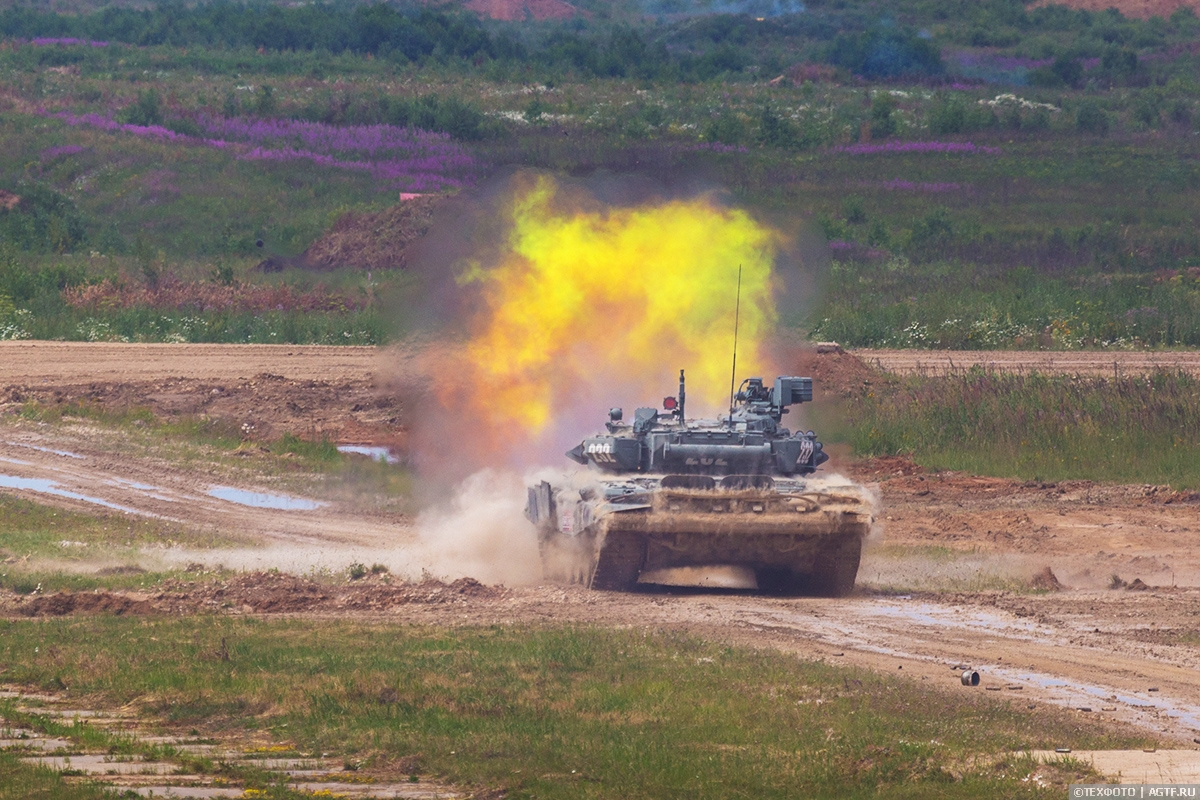 Выставка Армия 2019. Выстрелы