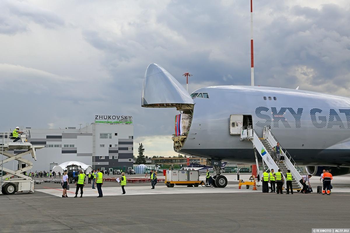 Открытие грузового терминала в аэропорту Жуковский.