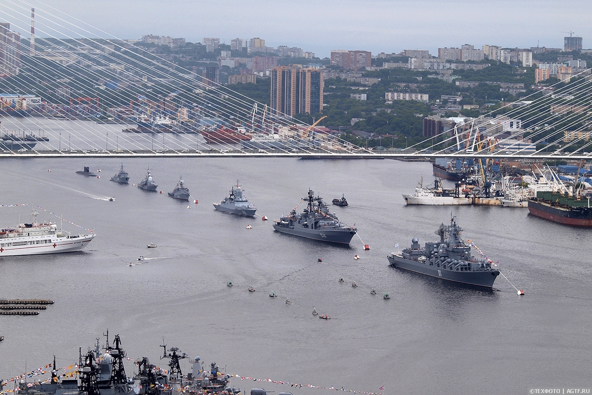 День ВМФ 2020г. во Владивостоке. Современный флот с глубокими традициями.