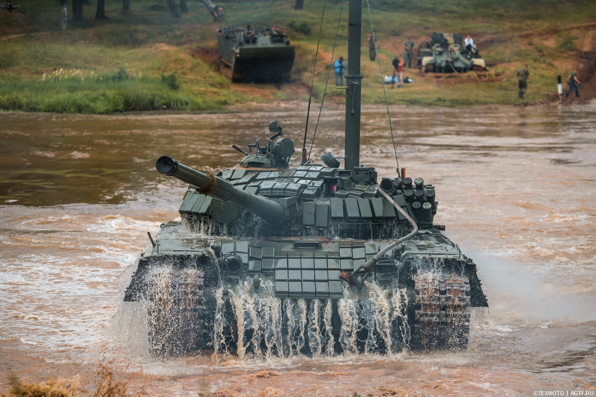 Подводное вождение танков, Головеньки 2021